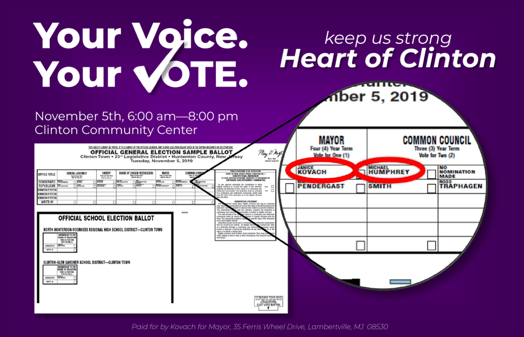 Get Out The Vote Mailer